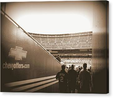 Canvas Print featuring the photograph Inside The Cathedral Of Baseball by Aurelio Zucco