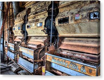 Inside The Cotton Gin Canvas Print by JC Findley