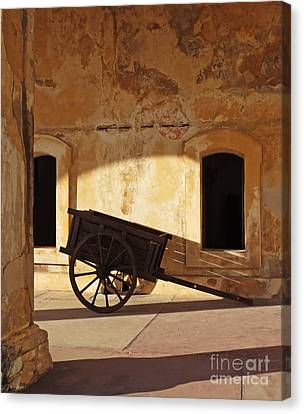 Inside The Fortress Canvas Print by Deborah Smith