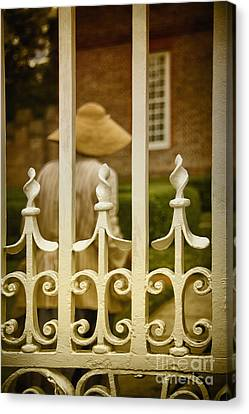 Inside The Gates Canvas Print by Margie Hurwich