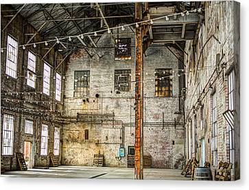 Inside The Old Sugar Mill Canvas Print by Diego Re