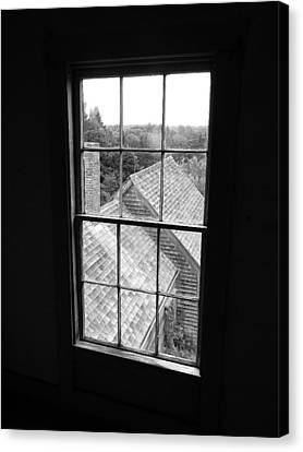 Maine Farmhouse Canvas Print - Inside The Olson House by Joel White