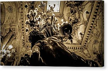 Inside The Opera Canvas Print by Theodore Khoury