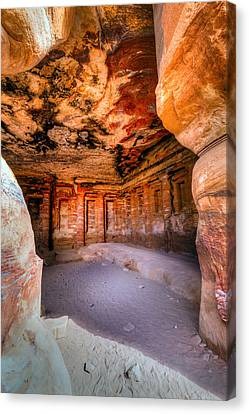 Inside The Tomb Canvas Print by Alexey Stiop