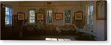 Inside View Of Slave Quarter, Middleton Canvas Print by Panoramic Images