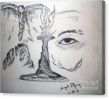 Insight Canvas Print by Angela Pelfrey