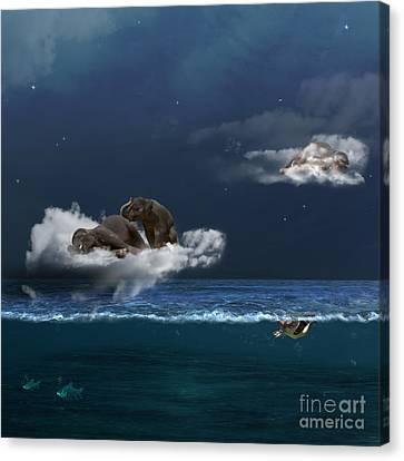 Insomnia Canvas Print by Martine Roch