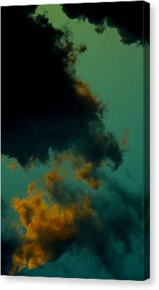 Canvas Print featuring the photograph Insomnia by Steve Godleski