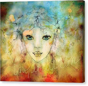 Inspiration Canvas Print by Barbara Orenya