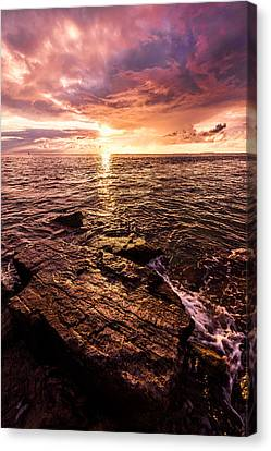 Oceanscape Canvas Print - Inspiration Key by Chad Dutson
