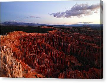 Inspiration Point Canvas Print by Jeff Swan