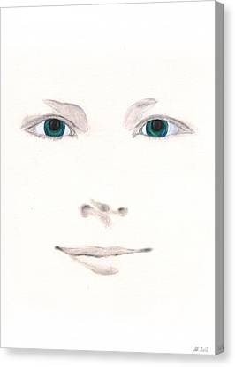 Canvas Print featuring the drawing Inspiration by Stephanie Grant