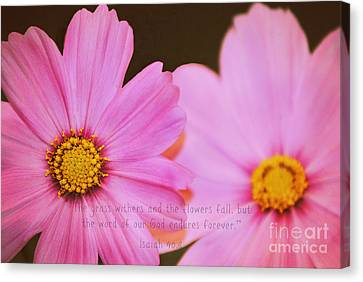 Inspirational Flower 2 Canvas Print by Eric Liller