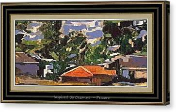 Inspired By Cezanne Ibc2 Canvas Print by Pemaro