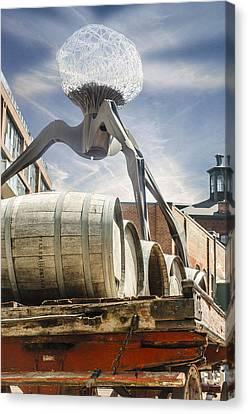 Installation At Distillery Canvas Print