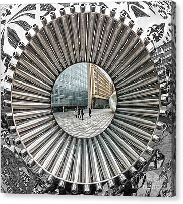 Institut Du Monde Arabe - Paris Canvas Print