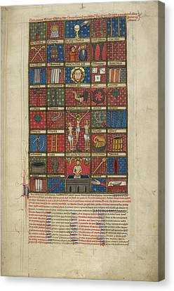 Instruments Of The Passion Canvas Print by British Library