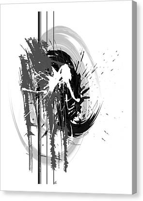 Graffiti Canvas Print - Integrity by Melissa Smith