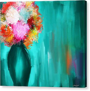 Intense Eloquence Canvas Print by Lourry Legarde