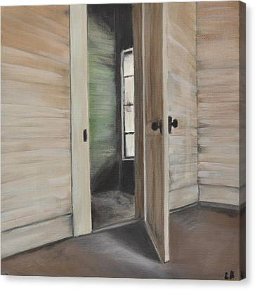 Interior Doorway Canvas Print by Lindsay Frost