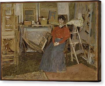 Interior Canvas Print by �douard Vuillard