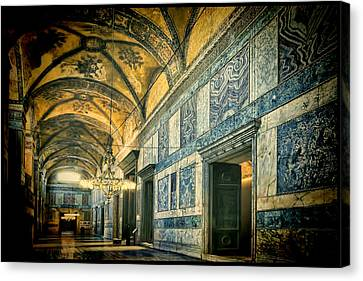 Interior Narthex Canvas Print