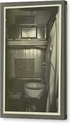 Interior Of A Ships Cabin, Anonymous,dutch Indies Canvas Print by Artokoloro