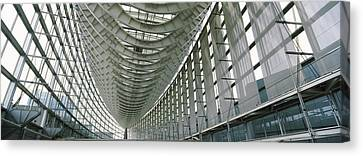 Interiors Of A Forum, Tokyo Canvas Print by Panoramic Images