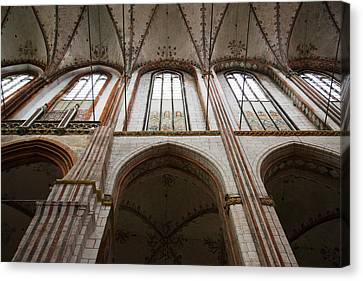 Interiors Of A Gothic Church, St. Marys Canvas Print