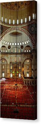 Islam Canvas Print - Interiors Of A Mosque, Suleymanie by Panoramic Images