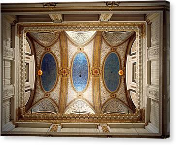 Interiors Of The Marshall Field And Canvas Print by Panoramic Images
