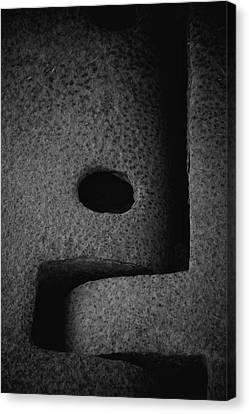 Interlock Canvas Print by Odd Jeppesen