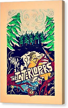 Interlopers Canvas Print by Dominic Pangelinan
