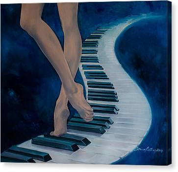 Intermezzo Canvas Print by Dorina  Costras