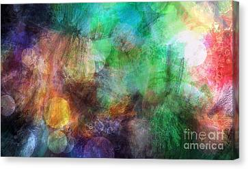 Internal Dialogue Canvas Print by Angelica Smith Bill