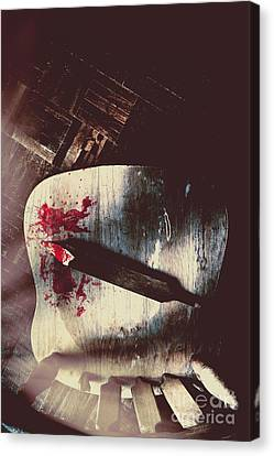 Internal Interrogation Canvas Print