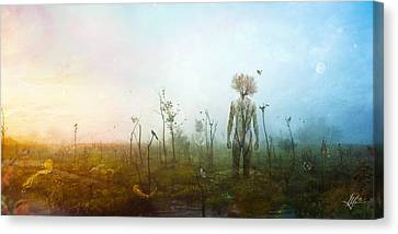 Internal Landscapes Canvas Print
