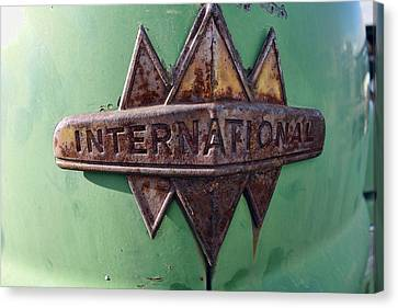International Harvester Insignia Canvas Print by Daniel Hagerman