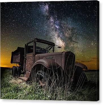 International Milky Way Canvas Print