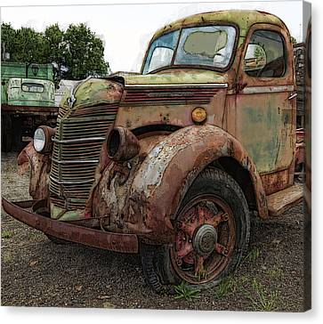International Rust Canvas Print by Daniel Hagerman