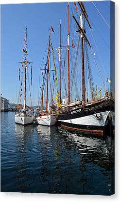 International Sailing Festival In Bergen Norway 2 Canvas Print