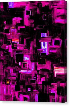 Interplay Canvas Print
