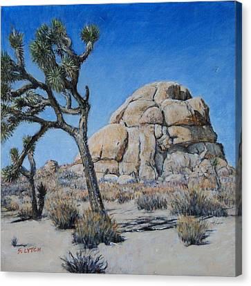 Intersection Rock Canvas Print by Sandra Lytch