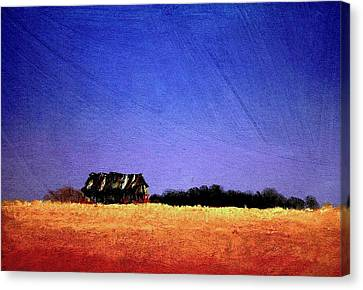 Interstate Landscape #1 Canvas Print by William Renzulli