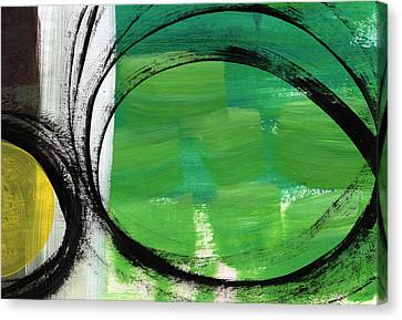 Intertwined- Abstract Painting Canvas Print