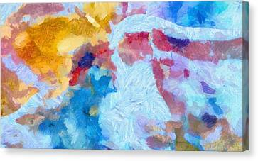 Intimate Canvas Print by Dan Sproul