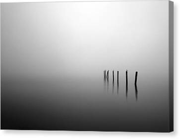 Into The Abyss Canvas Print by Grant Glendinning
