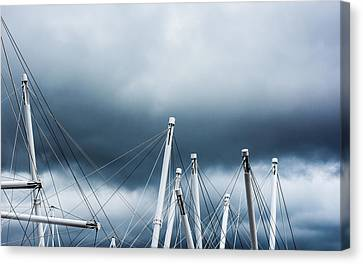 Into The Clouds Canvas Print