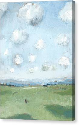 Into The Distance Part Eight Canvas Print by Alan Daysh