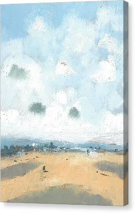 Into The Distance Part Four Canvas Print by Alan Daysh